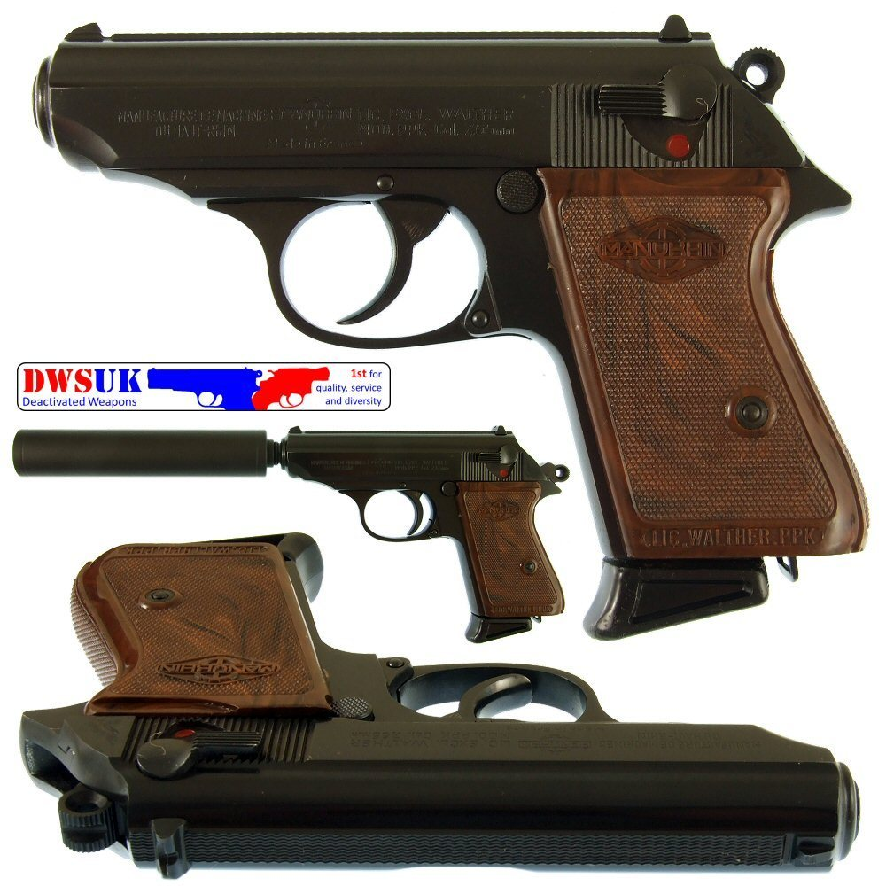 Walther Ppk Silenced