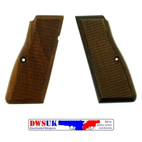 FN/Browning Hi Power Hardwood Grips