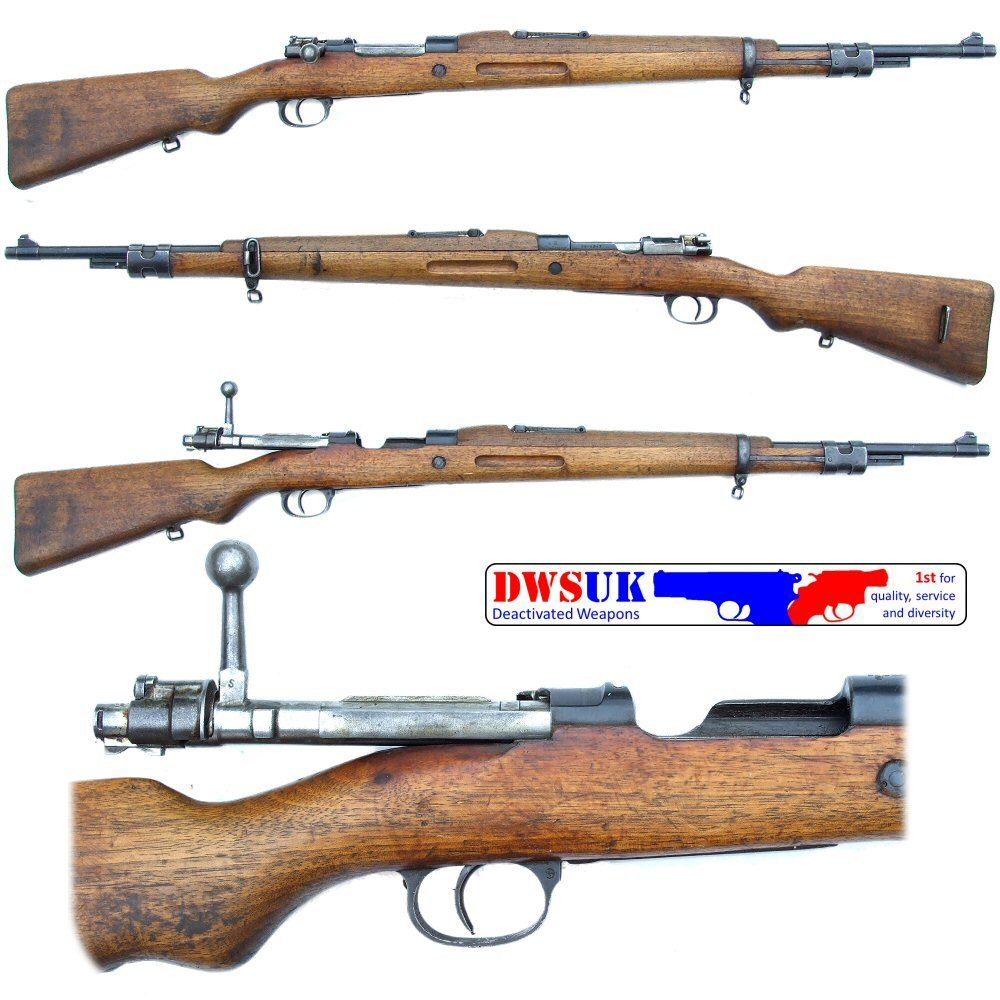 Spanish M43 Mauser Rifle - DWSUK