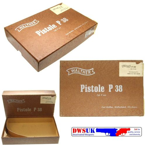 Walther P38 Factory Box