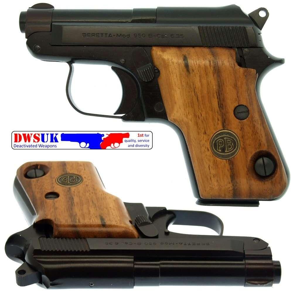 Beretta 950B  25ACP Auto Boxed - DWSUK