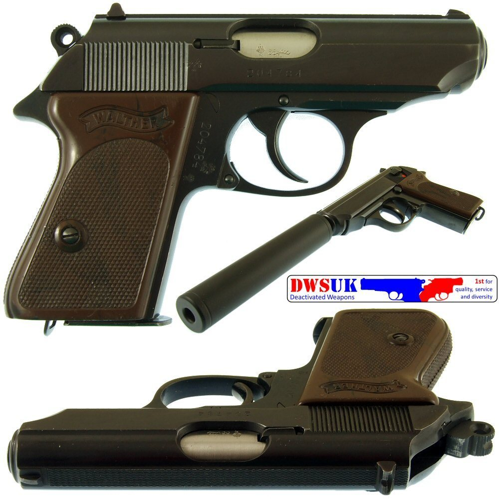007 Era Walther PPK & Silencer Boxed - DWSUK