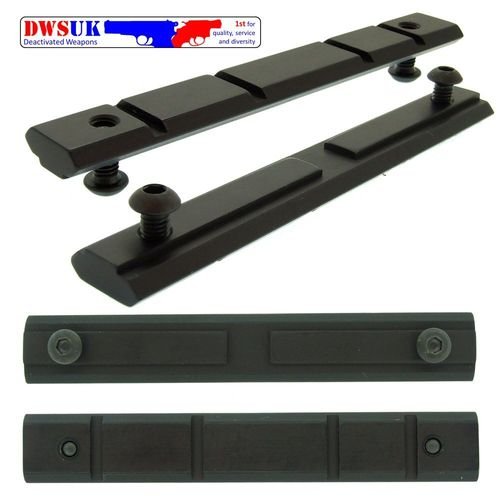 Heckler and Koch STANAG Weaver Rail