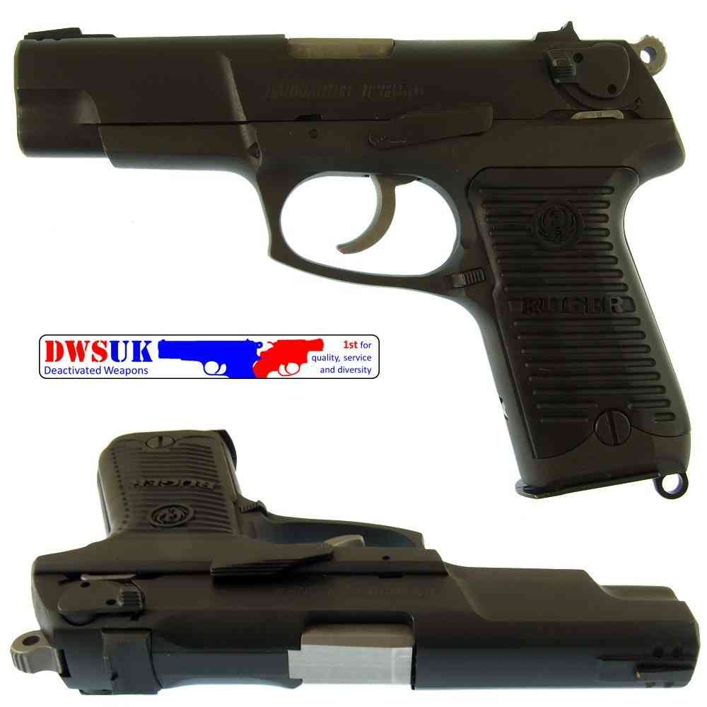 Field strip a ruger p85 pistol perhaps shall
