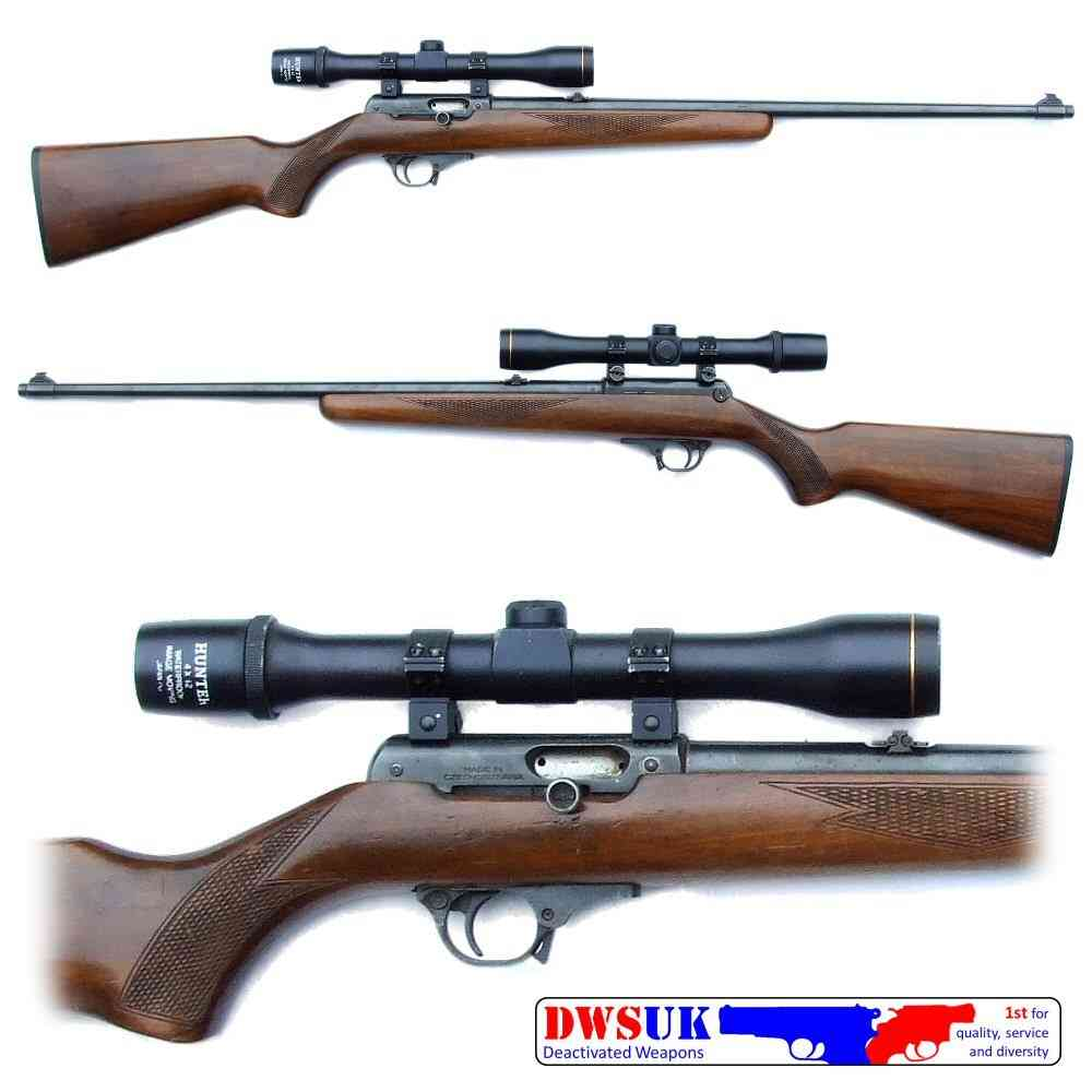 SPECIAL OFFER - CZ BRNO 581 Auto  22LR Rifle & Scope - DWSUK