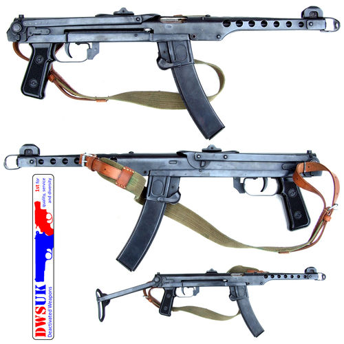 Polish PPS43 SMG & Accessories