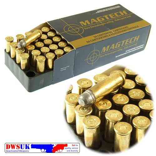 INERT .38 Special LRN x 50 Boxed