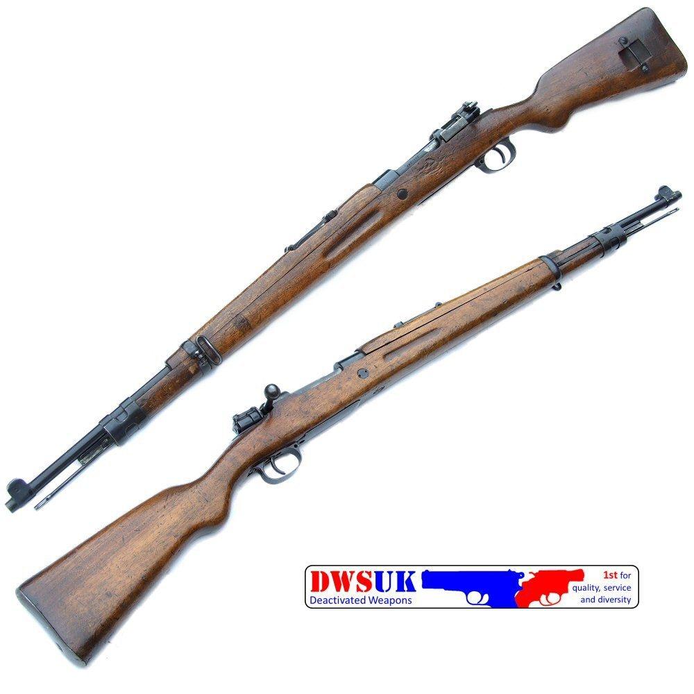 Spanish M44 Mauser Rifle