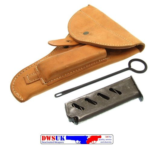 Czech VZ52 Leather Holster & Accessories