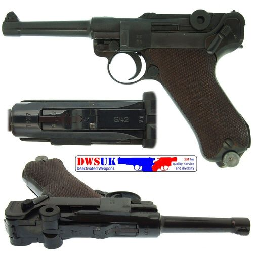 WWII S/42 Luger 1937