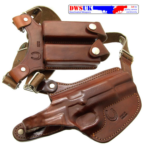 Horseshoe Gun Leather HAK/MM Hi Power Shoulder Holster
