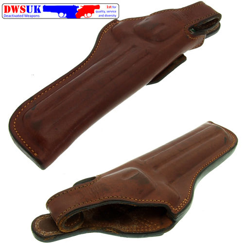 "Fox Leather 6"" Revolver Holster"