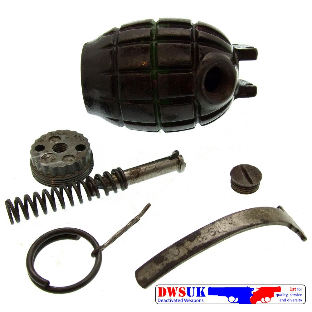 INERT WWII Mills Grenade